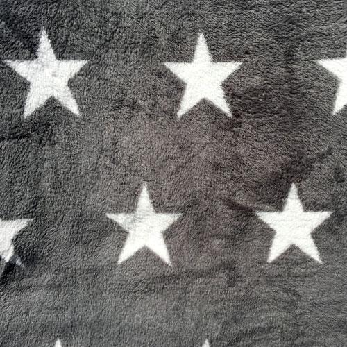 Fee - Grau mit weißen Sternen