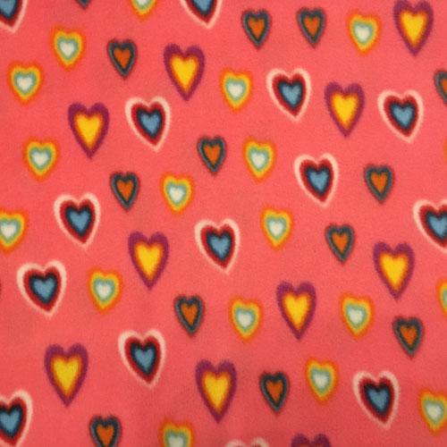 Fee - Rosa/Pink mit Herzen
