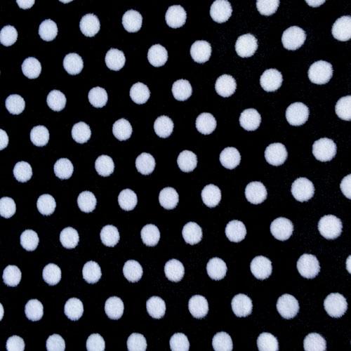 Fee - Schwarz mit weißen Punkten