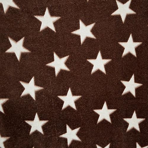 Fee - rehbraun mit beigen Sternen