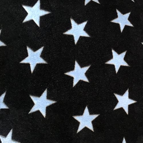 Fee - dunkelblau mit hellblauen Sternen