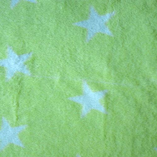 Fee - neongelb mit weißen Sternen