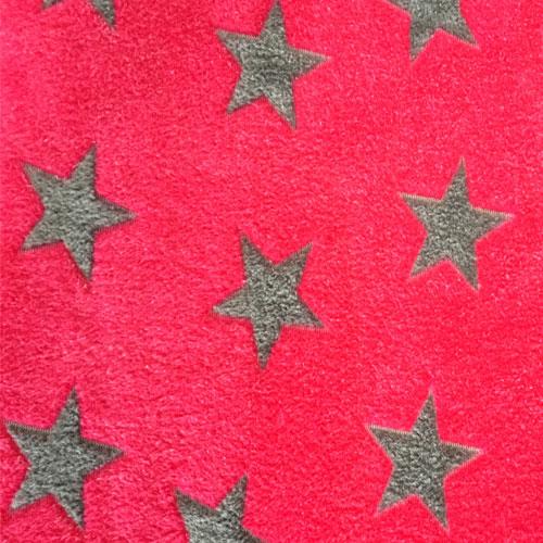 Fee - pink mit grauen Sternen