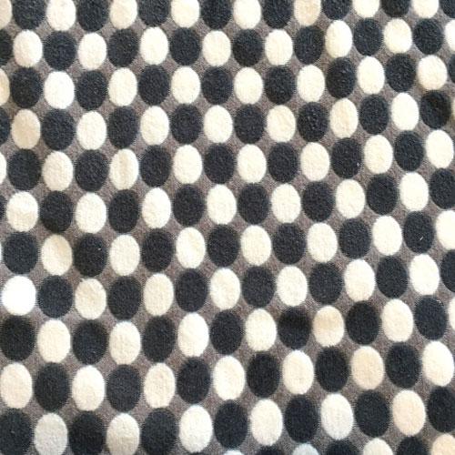 Fee - schwarz/grau/weiß Punkte