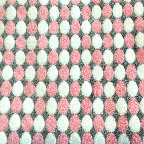 Fee - rosa/grau/weiß Punkte