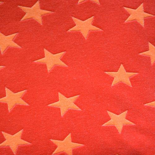 Fee - orange mit hellorangenen Sternen